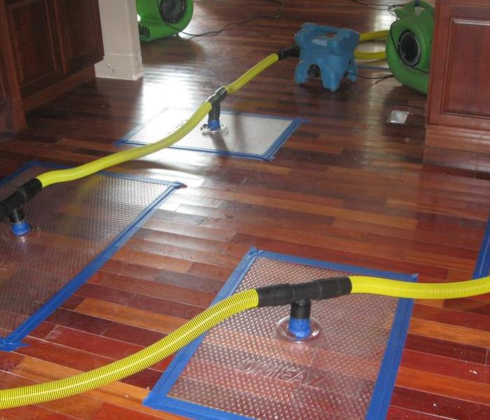 Drying Wood Floor